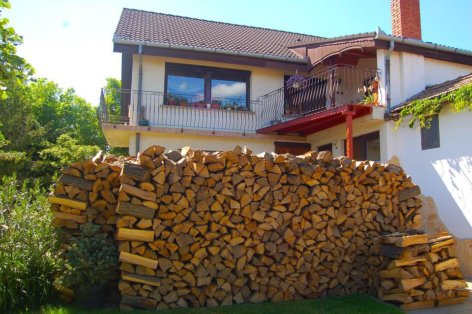 House, Land, Wood, Holz, Haus, Terasse, Country, Summer