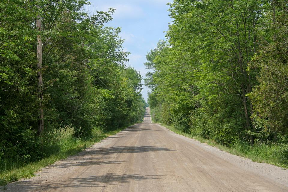 Country Road, Country, Road, Dirt Road, Unpaved Road