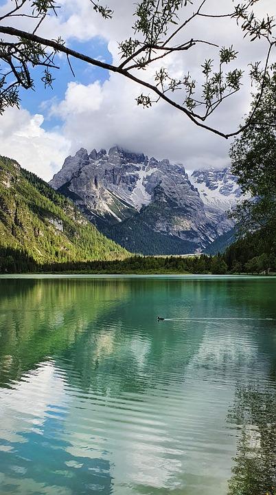 Lake, Mountains, Nature, Countryside, Scenery, Alpine