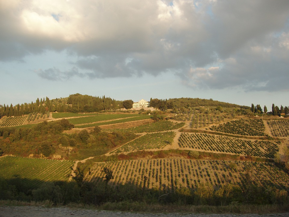 Italy, Countryside, Country, Tuscany, Sun, Beautiful