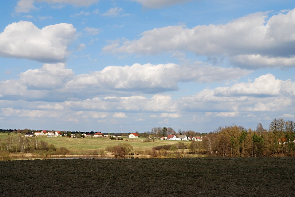 Early Spring, South Bohemia, Countryside