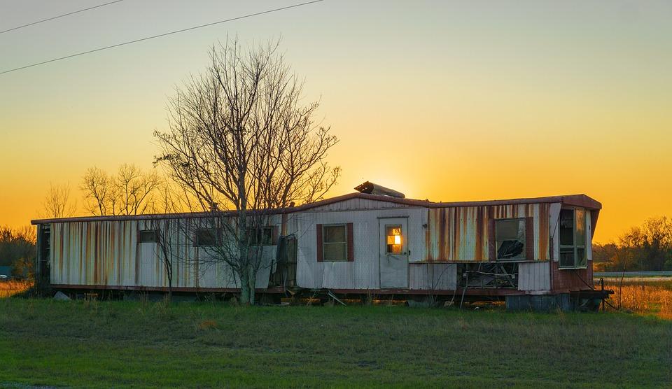 Mobile Home, Abandon, Grunge, Lifestyle, Countryside