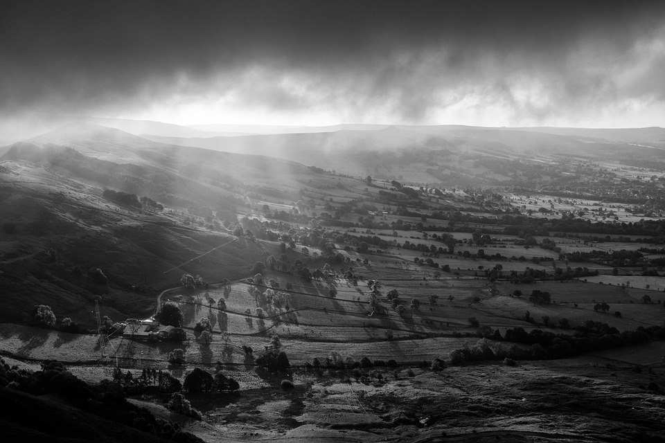 Hope Valley, Peak District, Derbyshire, Countryside