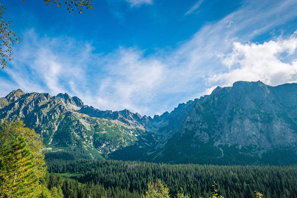 Landscape, Mountains, Nature, Countryside, Scenery