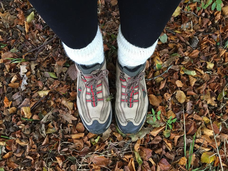 Autumn, Boots, Leaves, Outdoor, Walking, Countryside