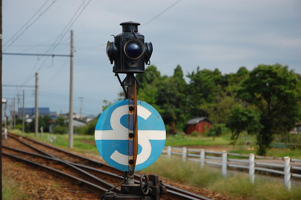 Train, Local Lines, Traffic Signals, Countryside