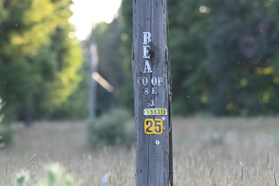 Number, Sign, Telephone, Pole, Countryside, Co Op, 25