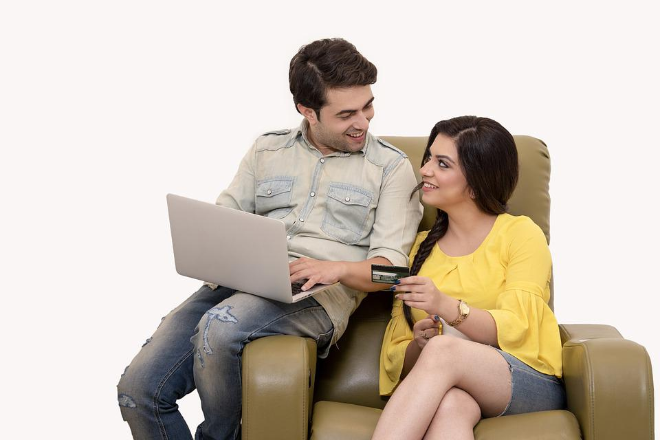 Girl, Boy, Dating, Cafe, Couple, Cute, Laptop, Together