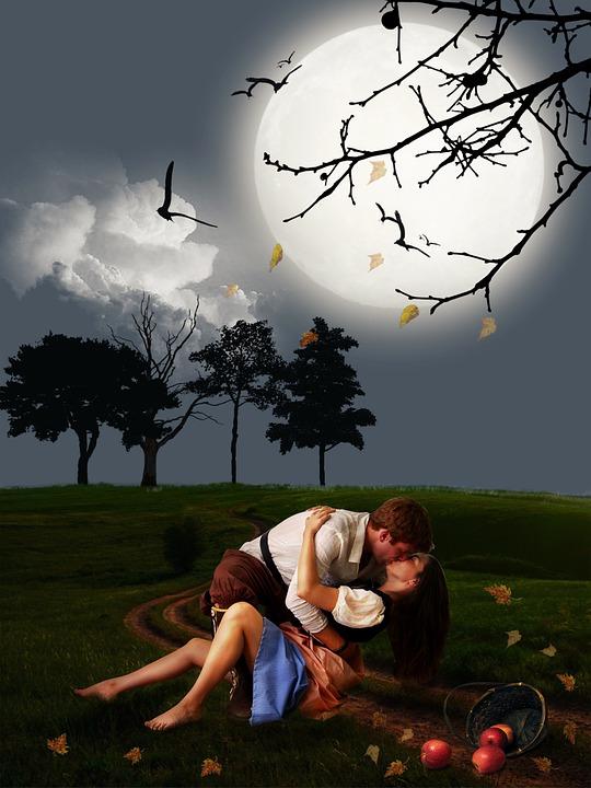 Couple, Lover, Romantic Scene, Scene, Lovers, Romantic