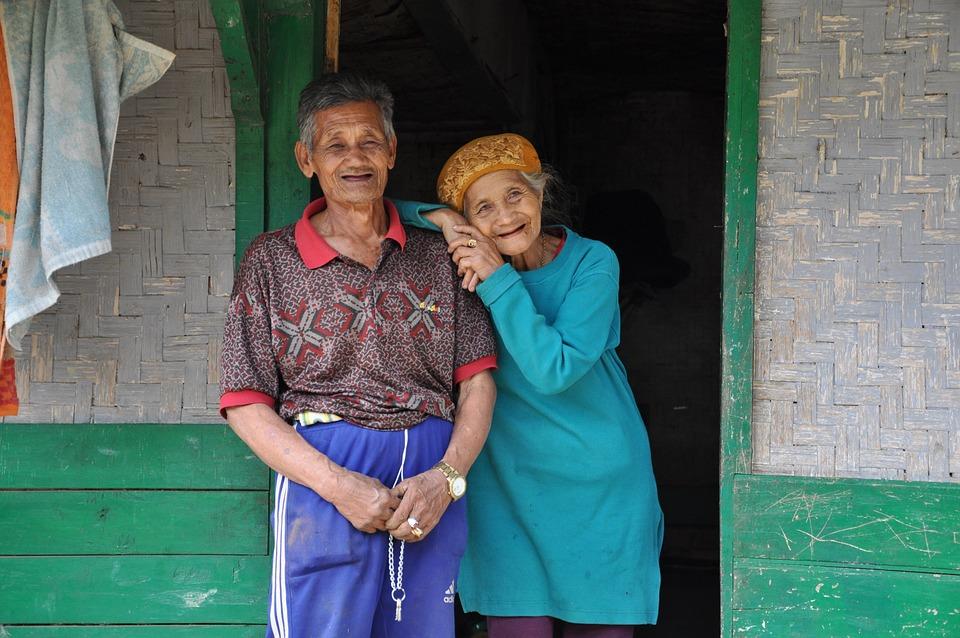 Old, Couple, Ciwidey