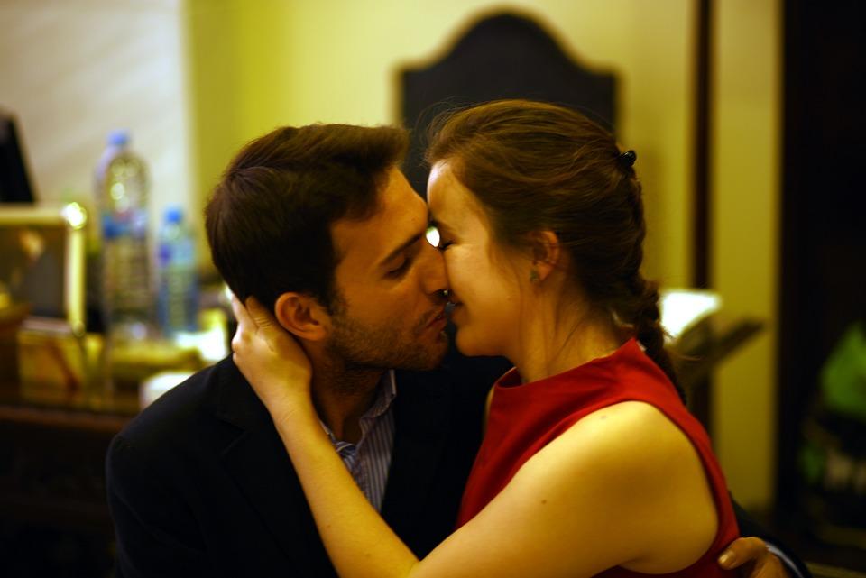 Couple, Kiss, Romance, Romantic, People, Women