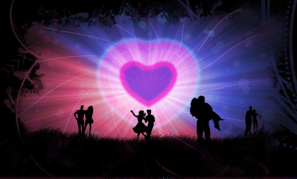 Romance, Valentine, Together, Couple, Heart