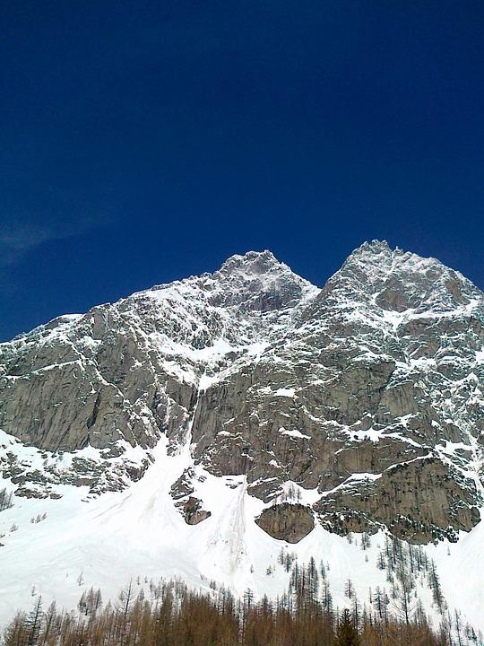 Mountain, Courmayeur, Skiing