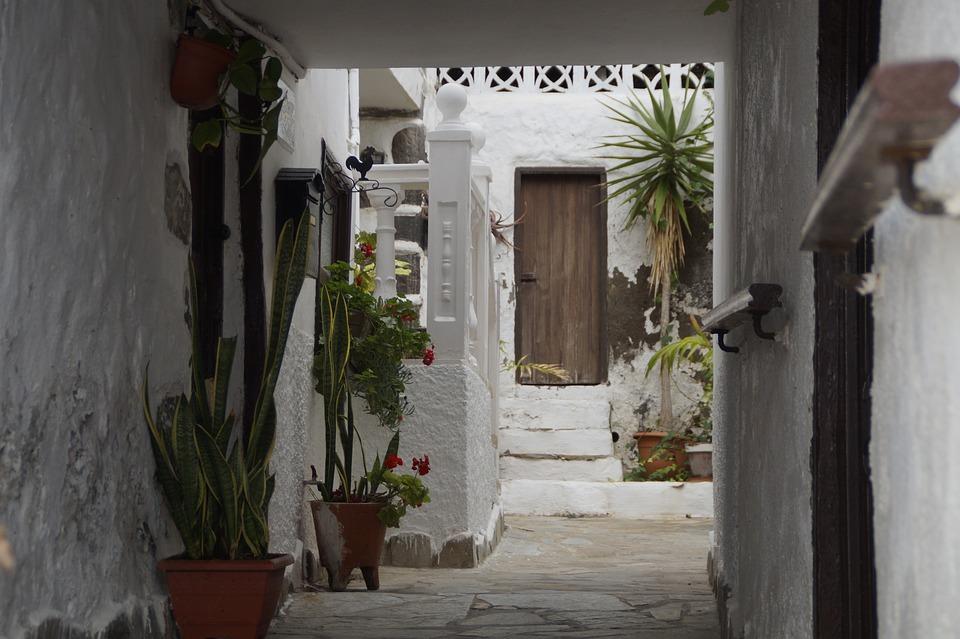Courtyard, Mediterranean, Vacations, Tenerife