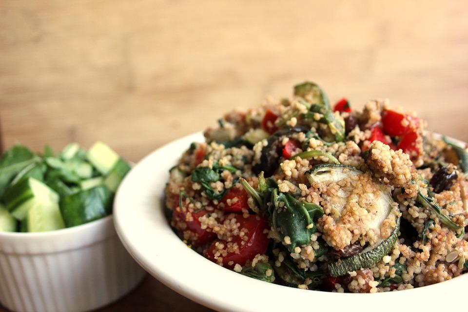Couscous, Salad, Eat, Vegan, Couscous Salad, Healthy