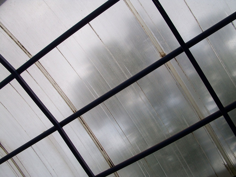 Cover, Structure, Translucent, Steel, Framework