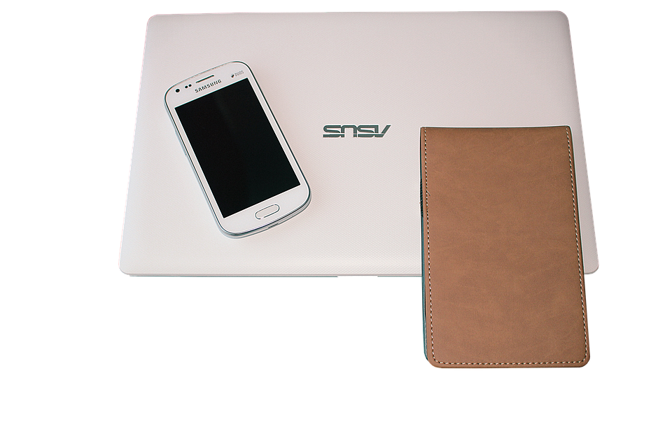 Laptop, Mobile, Diary, Cover, Digital, Technology