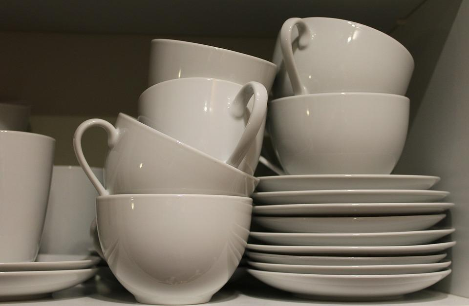 Tableware, T, Porcelain, Coffee Mugs, Cover, Kitchen