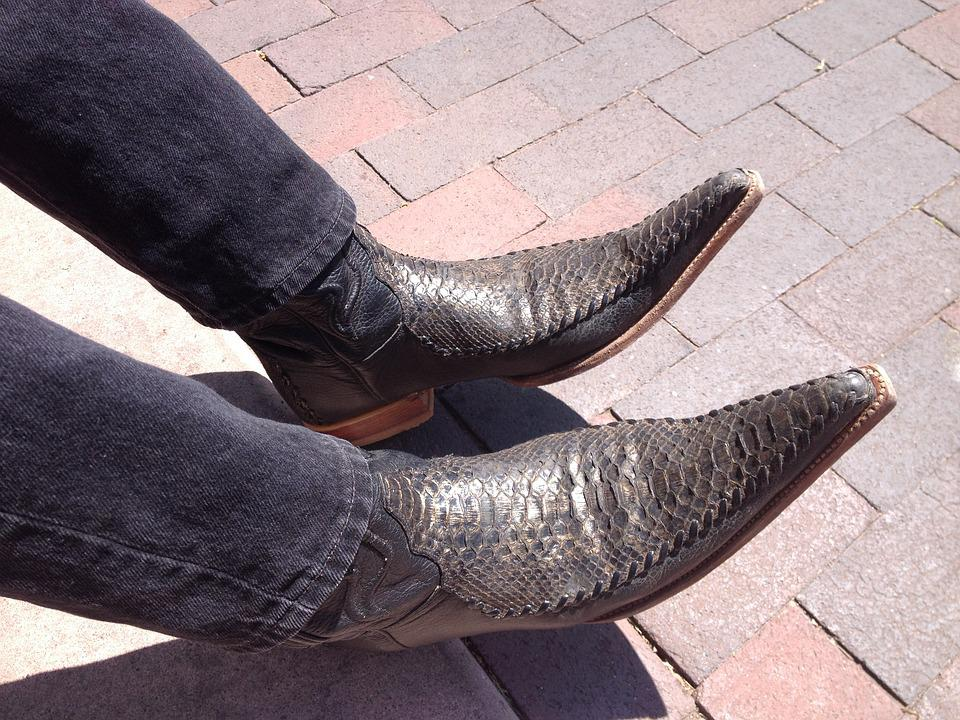 Cowboy, Boots, Cowboy Boots, Western, Leather, Country