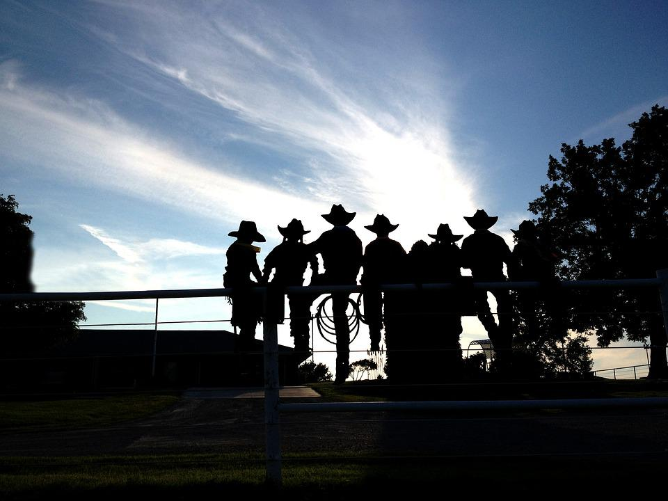 Cowboys, Cowgirls, Fence, Hat, Country, Girl, Western