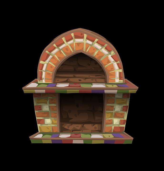 Fireplace, Heat, Cozy, Living Room, Warm, Mantel, Brick