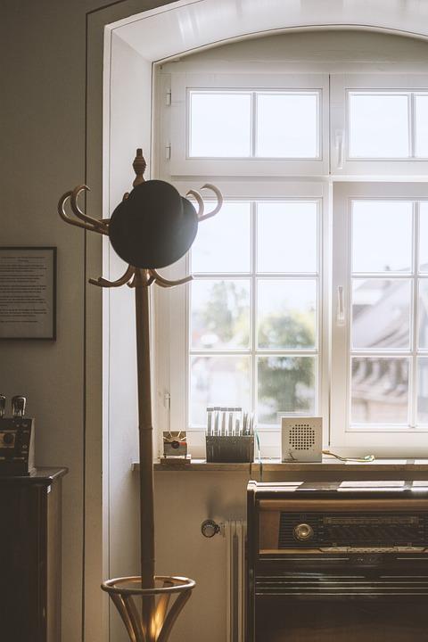 Cozy, Old School, Radio, Hat, Classy, Window, Bloom