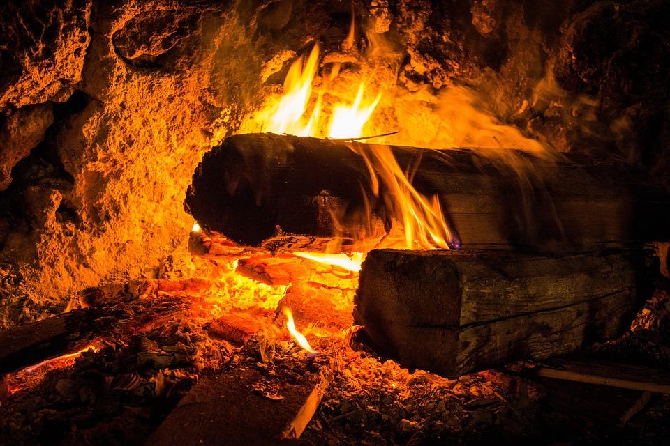 Open Fire, Fireplace, Open Fireplace, Cozy, Fire