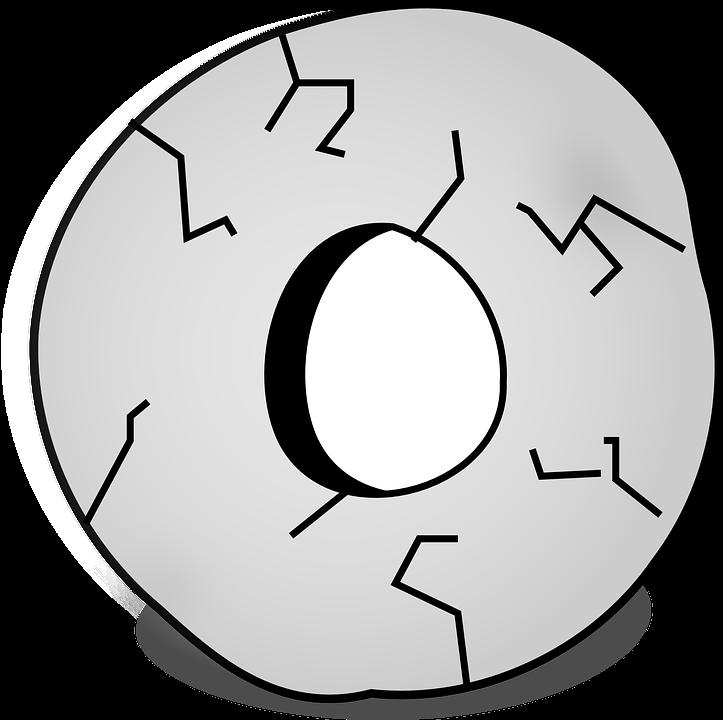 Millwheel, Prehistoric, Wheel, Stone, Cracked