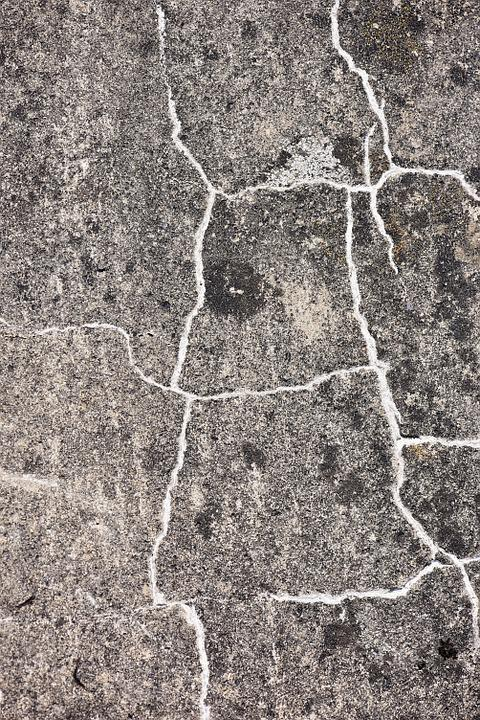 Concrete, Stone, Cracks, Cracked, Weathered, Background