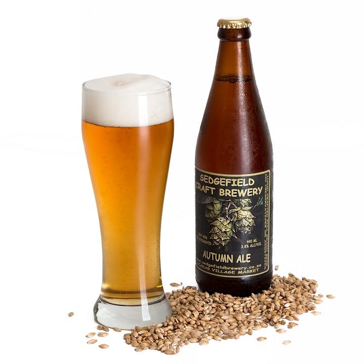 Craft Beer, Ale, Beverage, Alcohol, Barley, Bottle
