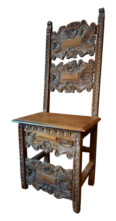Chair, Wood, Middle Ages, Wooden Chairs, Craft, Carving