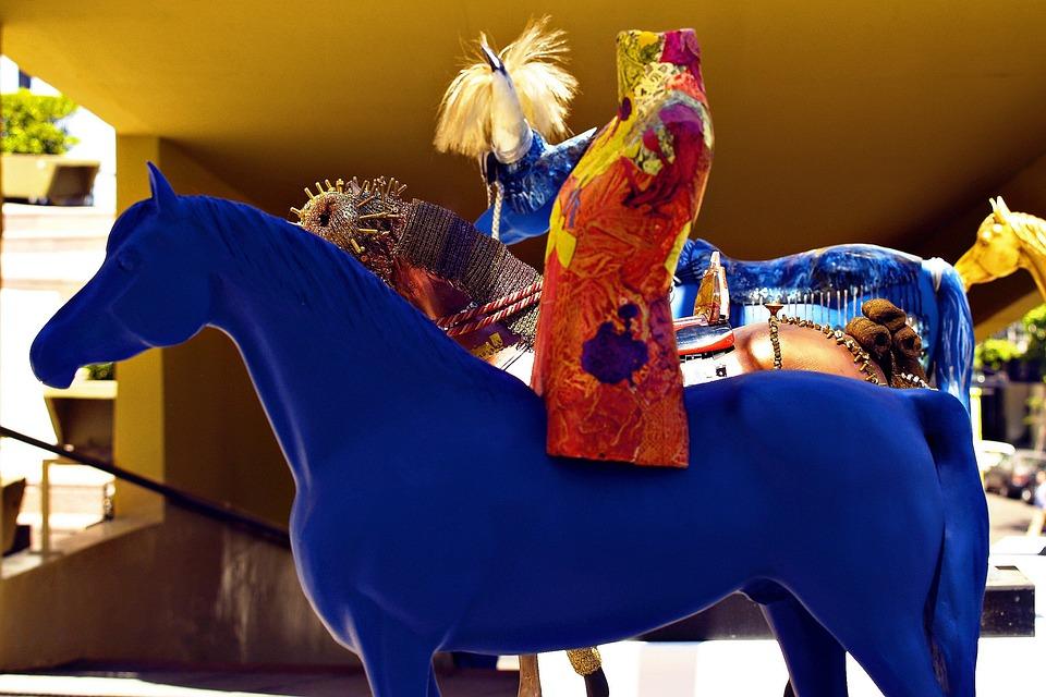 Artwork, Horse, Craft, Colorful, Animal, Design
