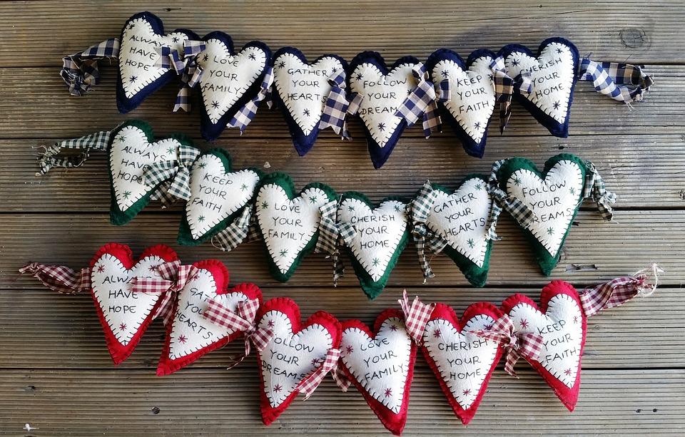 Hearts, Sayings, Craft, Love, Symbolic, Feelings