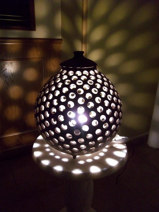 Ceramic Lamp, Handmade Ceramic, Craft Products