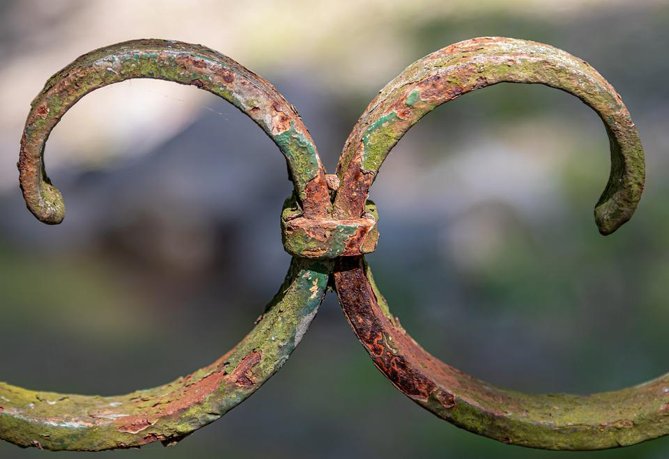 Metal, Ornament, Rusty, Weathered, Detail, Craft, Fence