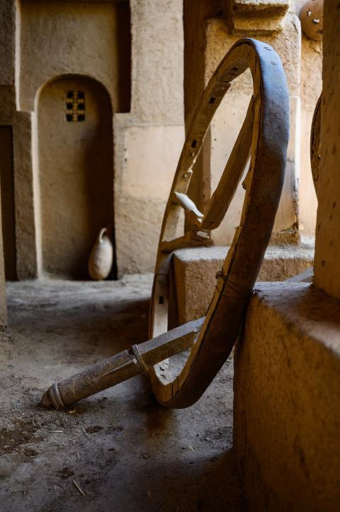 Craft, Tradition, Wheel, Wood, Morocco, Kasbah, Tourism