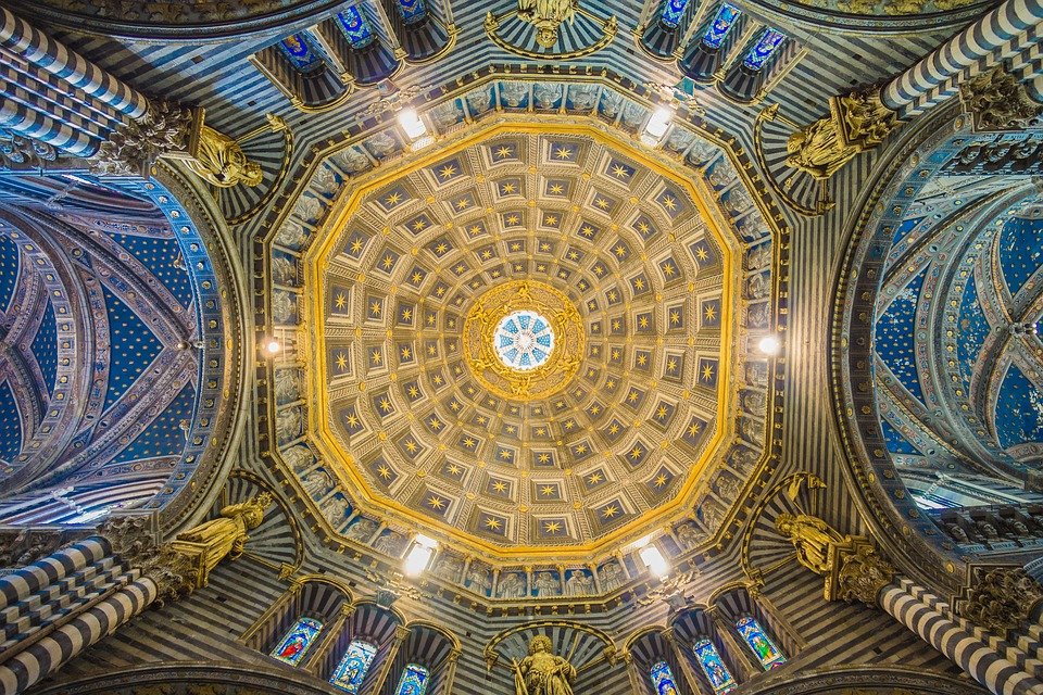 Arches, Architecture, Cathedral, Ceiling, Craftsmanship