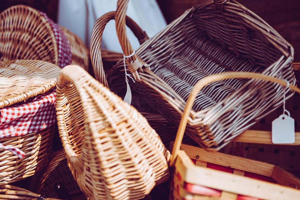 Arts And Crafts, Baskets, Craftsmanship