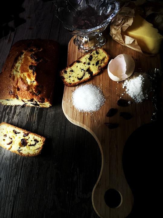 Pound Cake, Cranberry, Cranberry Pound Cake, Baking