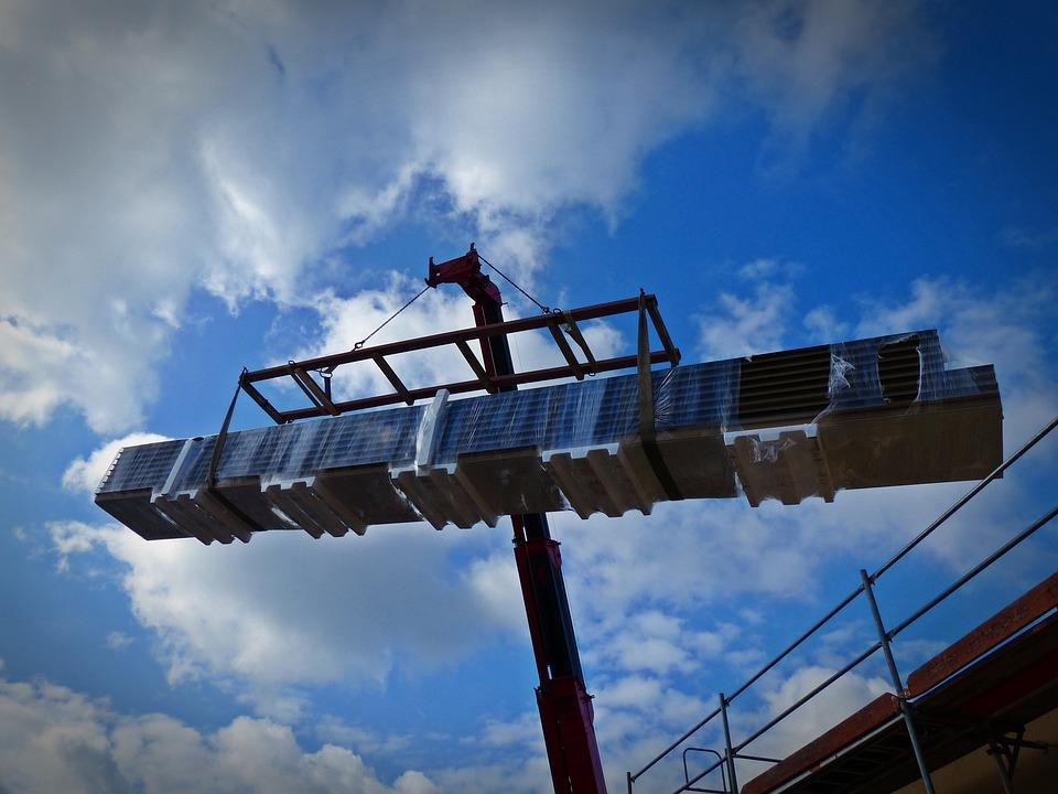 Crane, Last, Baukran, Site, Load Crane, Crane Arm