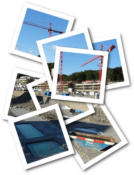 Mr, Site, Build, Crane, Baukran, Construction Work
