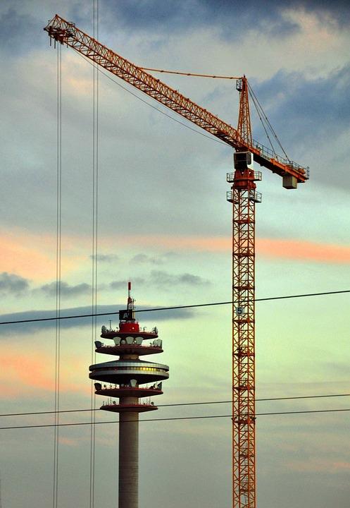 Crane, Baukran, Tower, Load Crane, Boom, Crane Boom