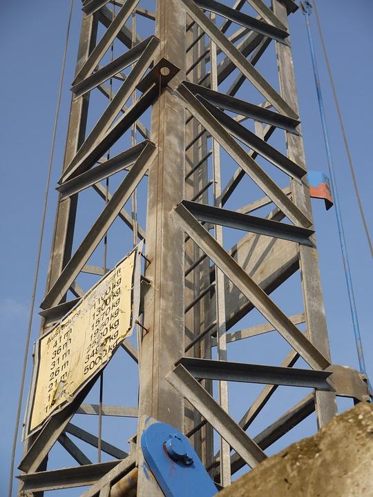 Site, Crane, Shield, Payload, Last, House Construction