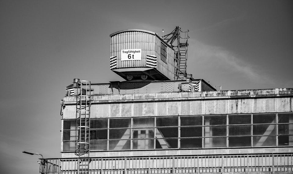 Industry, Crane, Technology