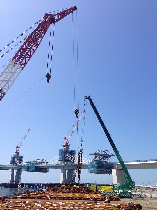 Journey, Bridge, Crane
