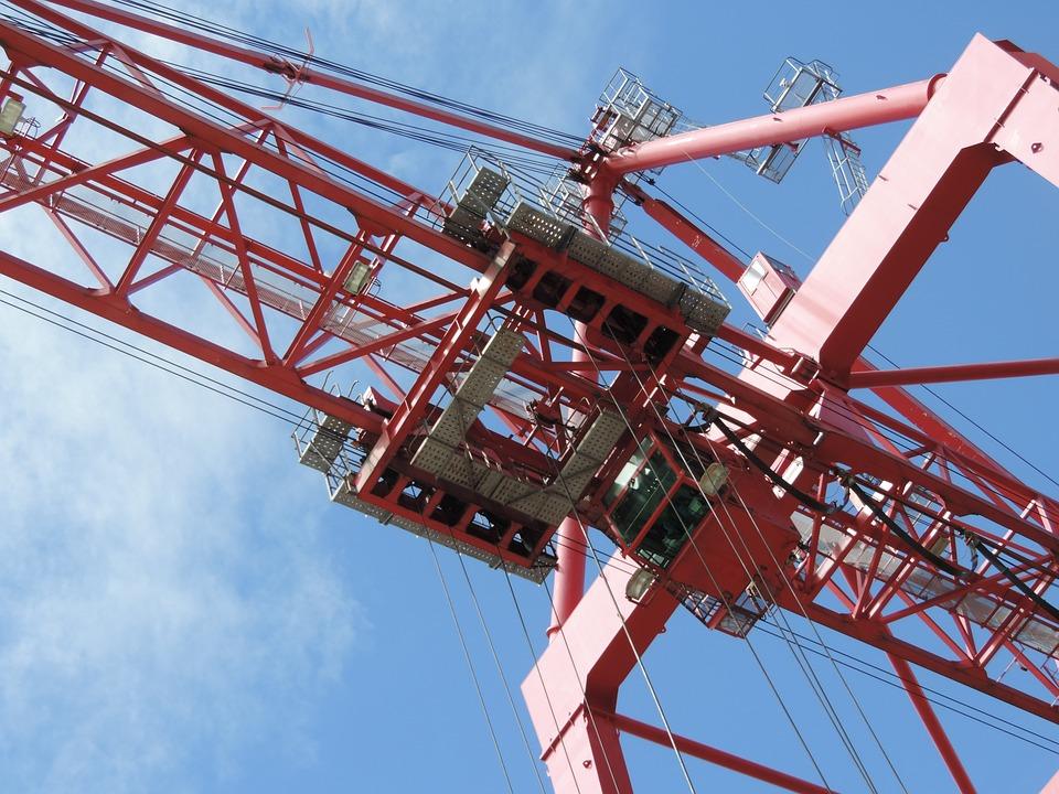 Crane, Portico, Port, Montréal, Termont