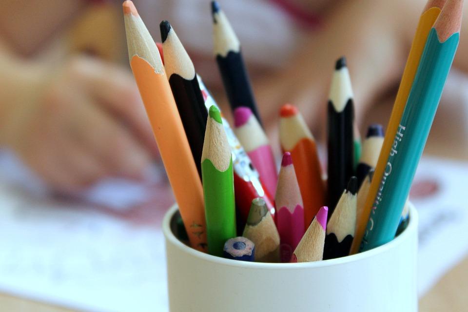 Children, Crayons, Drawing, Fun, Child, Figure