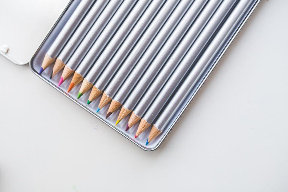 Colored Pencils, Pencils, Crayon, Crayons