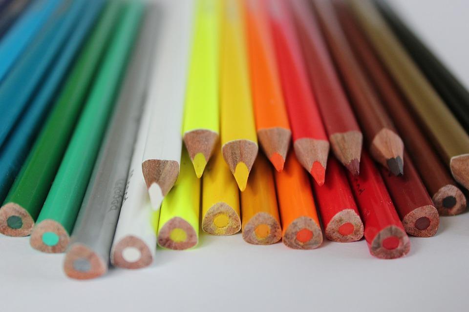 crayons crayon color coloring drawing