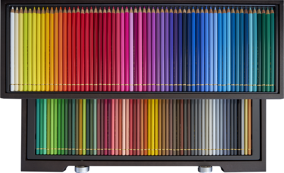 Colored Pencils, Color, Draw, Paint, Artistic, Crayons